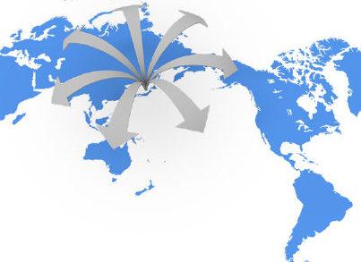 マクロの世界 各国へ輸出